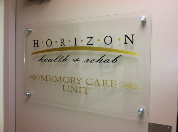 Mounted Acrylic Entrance Sign