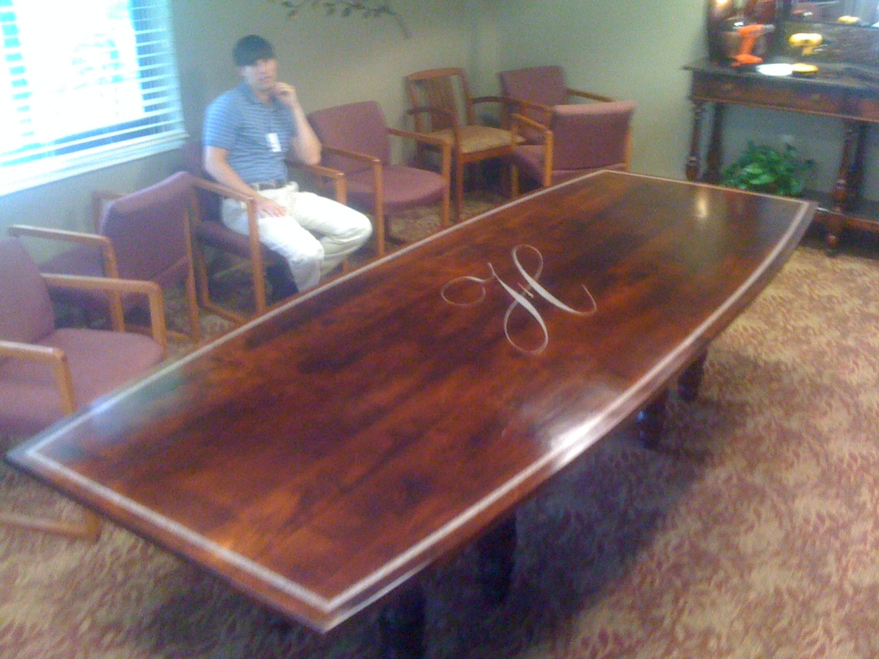 10 Foot Custom Conference Table