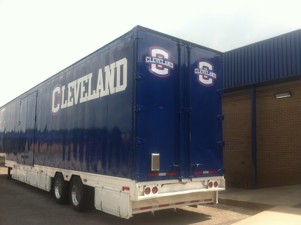 High School Marching Band Trailer Wrap