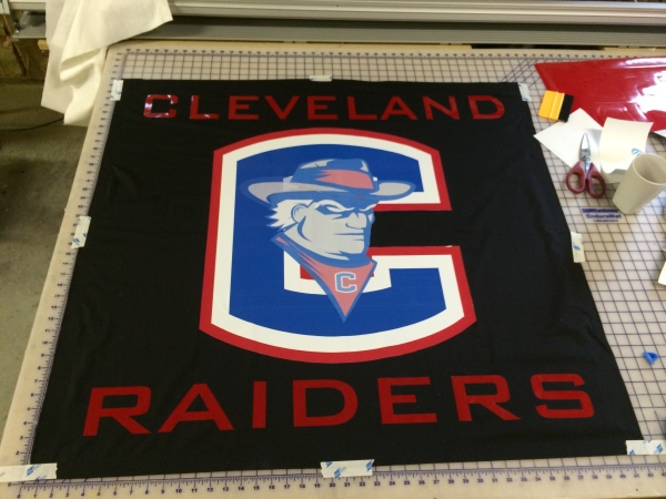 "Custom ""Student Section"" Flags"