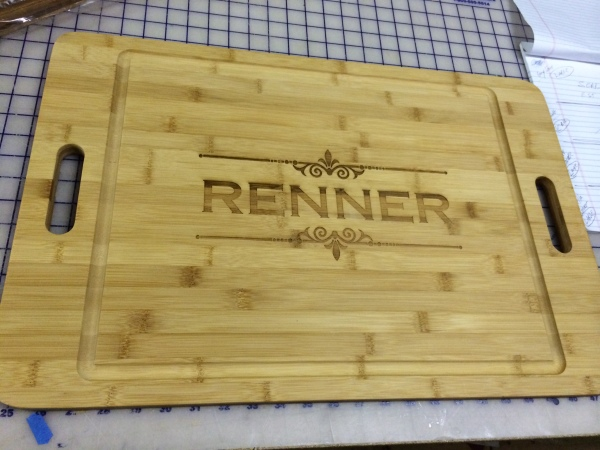 Personalized Cutting Tray