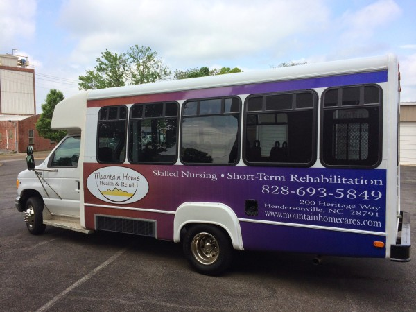Facility Bus Fleet Wrap